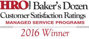 2016 Baker's Dozen Award