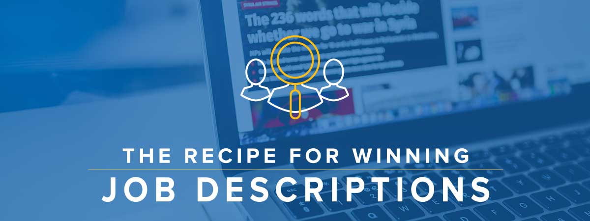 Winning Recipe for Job Descriptions
