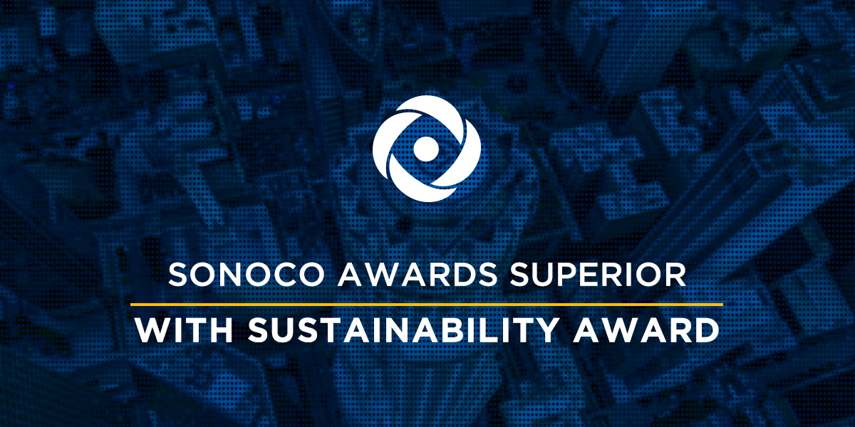 Sonoco Awards Superior With Sustainable Achievement Award