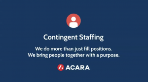 About Our Contingent Staffing Solutions